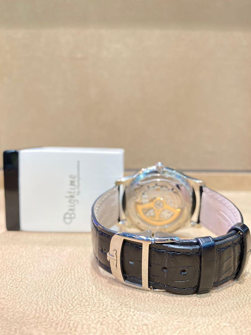 Pre Owned Jaeger-LeCoultre Master Ultra Thin 176.8.64.S Silver Dial Automatic Steel Casing Leather