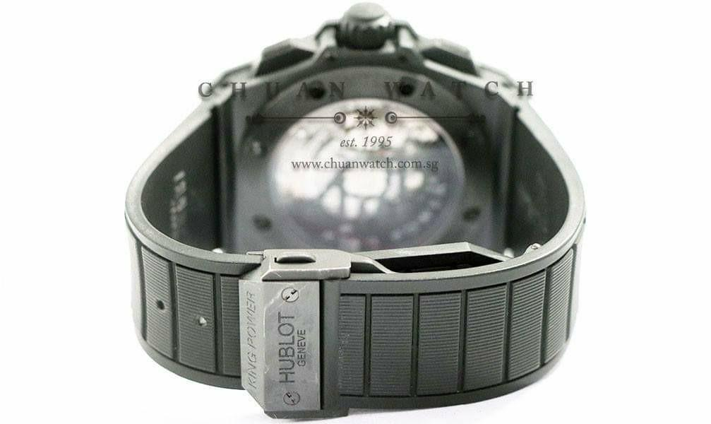 Pre-Owned Hublot King Power Black Magic Split-Second 48mm 709.CI.1770.RX  (Limited Edition of 500 Pieces Only)