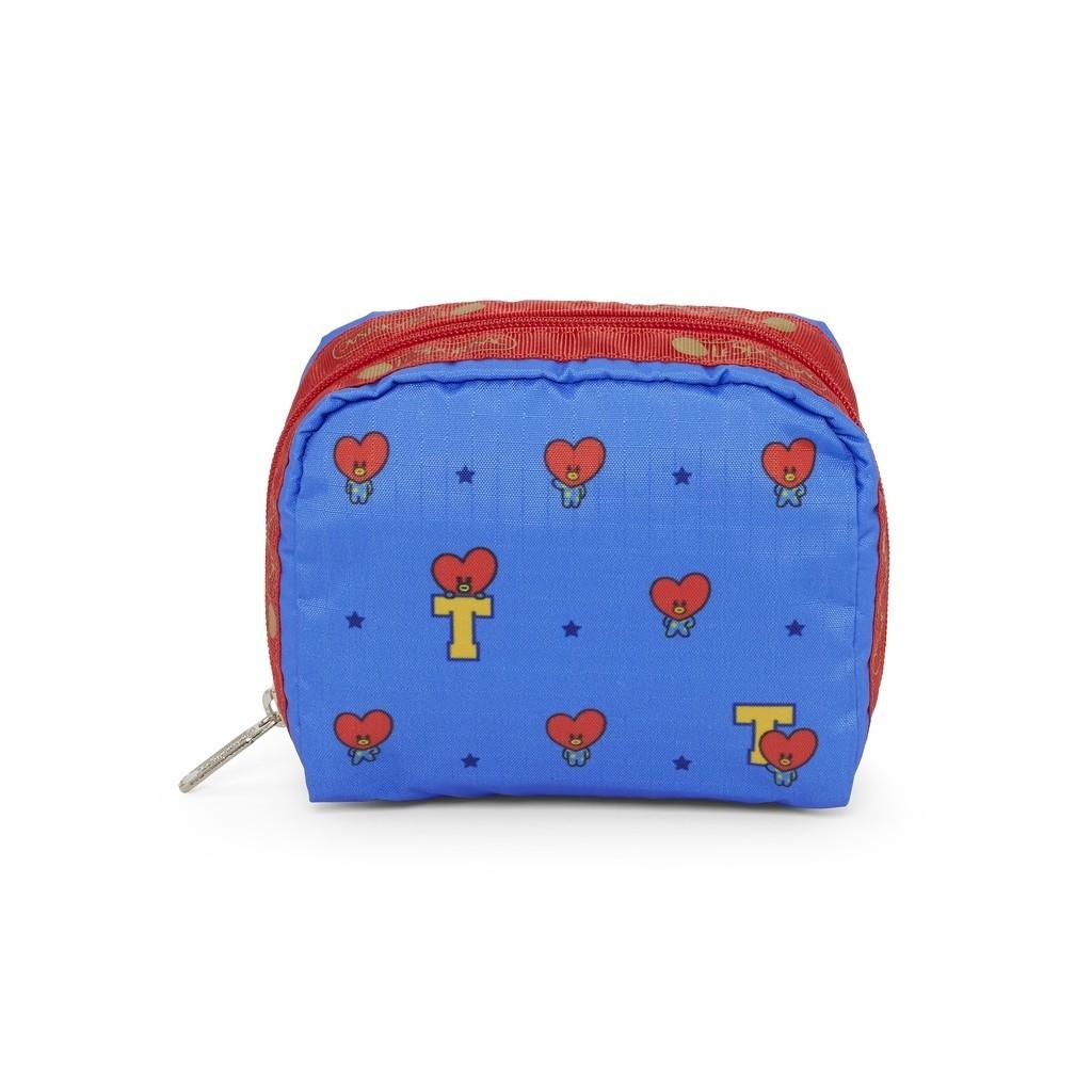 LeSportSac X BT21 BTS Collaboration Cosmetic Pouch