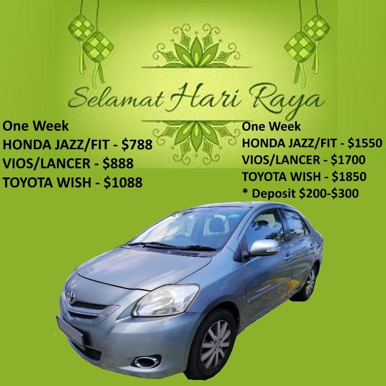 Special Price Hari Raya Car Rental - Cheap / Budget