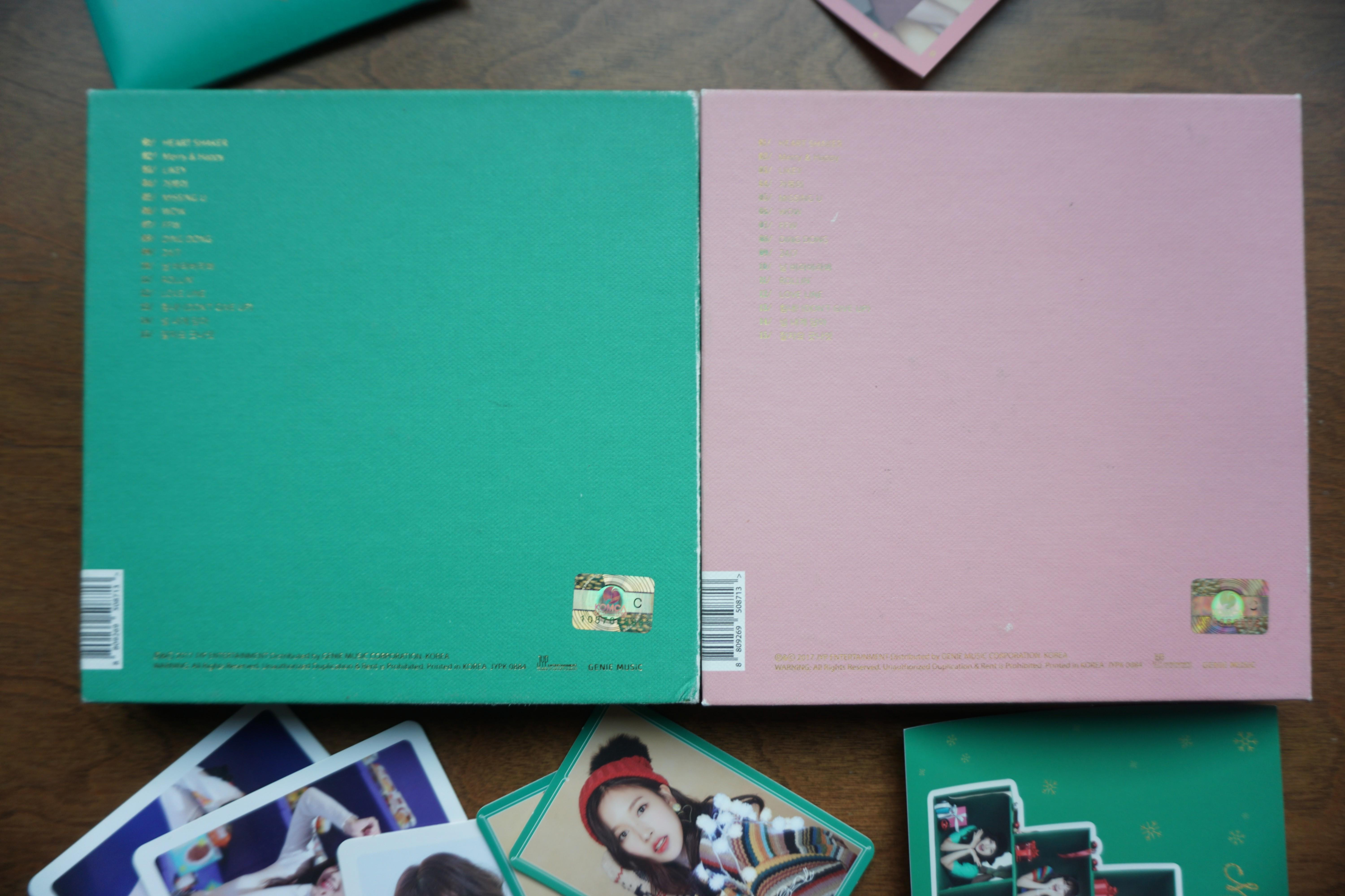 [Special]Twice - Merry and Happy Albums Twicetagram Repackage