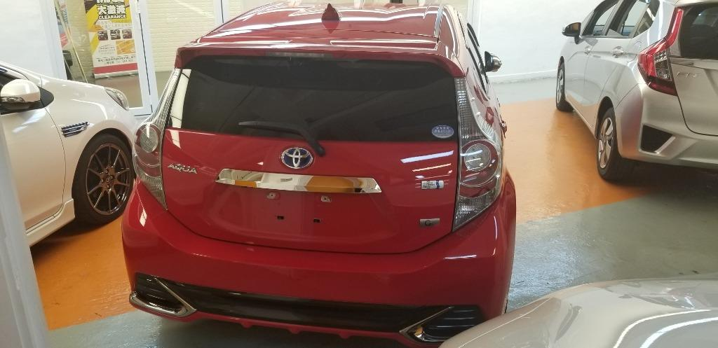 Toyota Aqua 1.5 Hybrid GS Auto