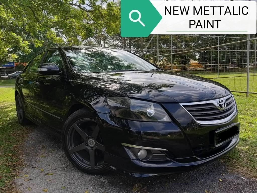 "TOYOTA CAMRY 2.4 NEW MODEL NEW PAINT NEW TIRE 18""SPORT RIM BOYDKIT"