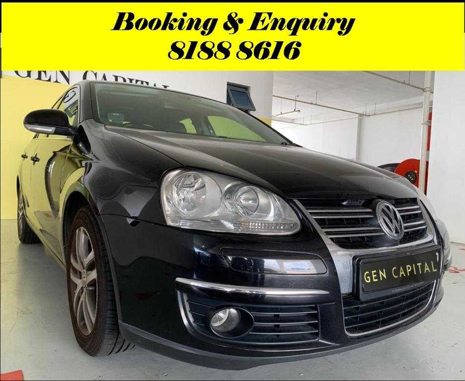 Volkswagen Jetta HAPPY TUESDAY!! Best thing comes in pairs. Get your family, relative, friends to rent together to enjoy further discounts with 2 free days rental!! $500 Deposit driveoff immediately. Whatsapp 8188 8616 now!