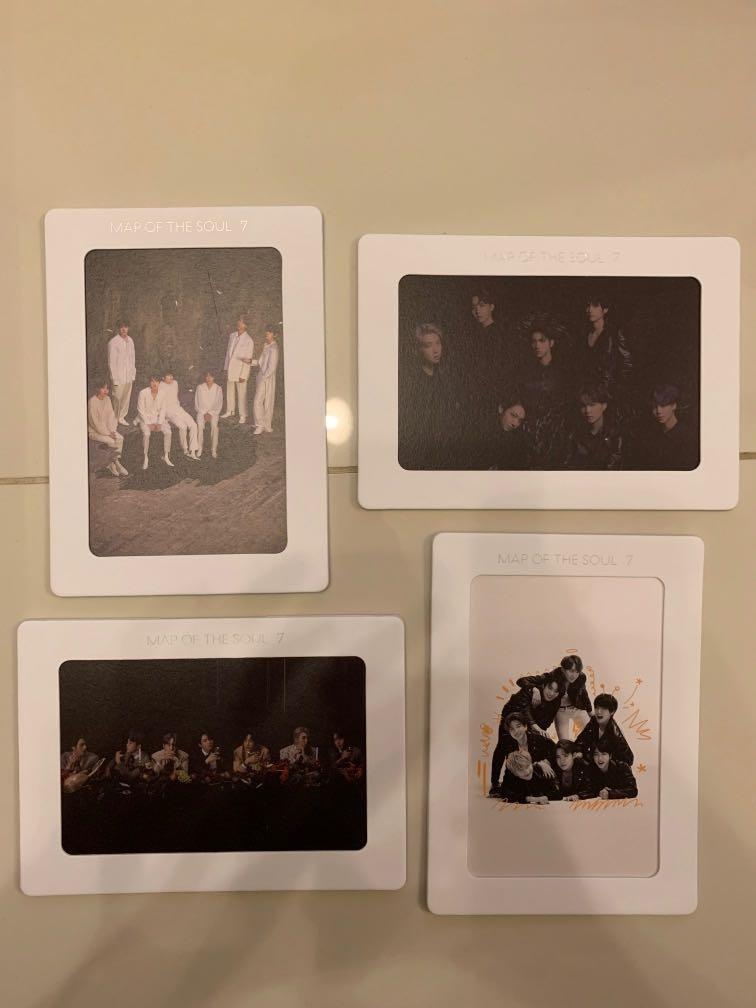(WTS) BTS Map of The Soul: 7 Album Weply Pre Order Gift (Aurora Frame)