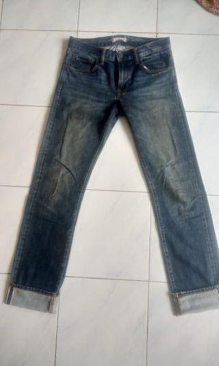 Jeans uniqlo selvedge