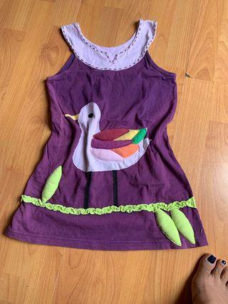 Dress embossed design