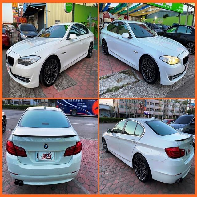 2012 寶馬 BMW F10 520D 白 2.0 柴油