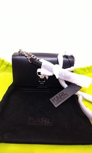 100% New and Authenticated Karl Lagerfeld Sling Bag