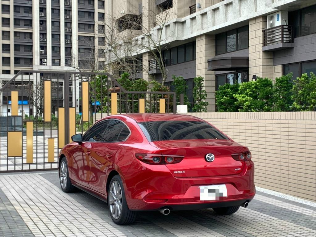 全額貸條件包裝 免保人 無薪轉勞保可辦理 2019年 Mazda3 4D
