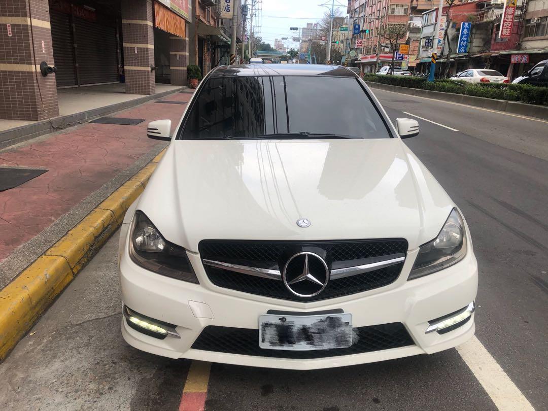 賓士 Benz 2011  w204 C250 AMG