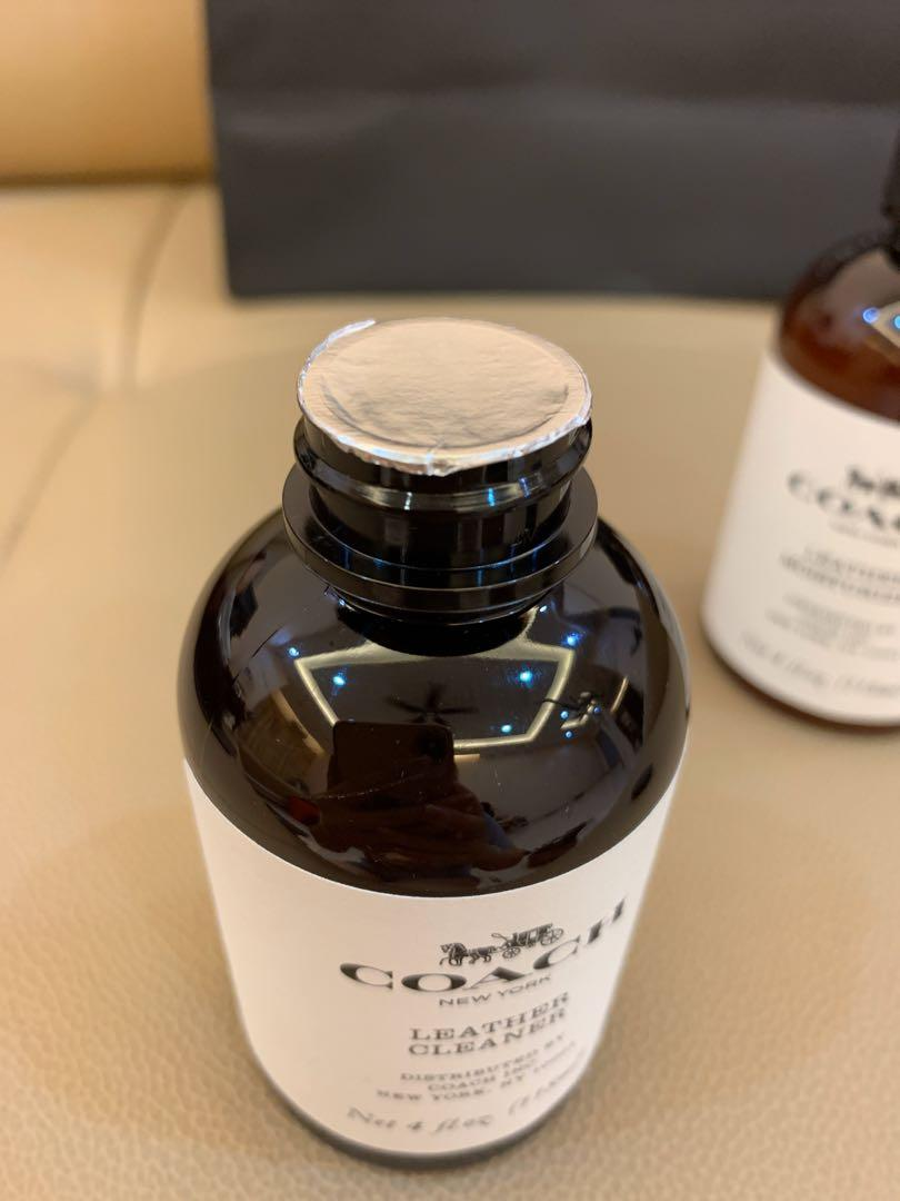 Authentic coach leather lotion or cleaner 118ml