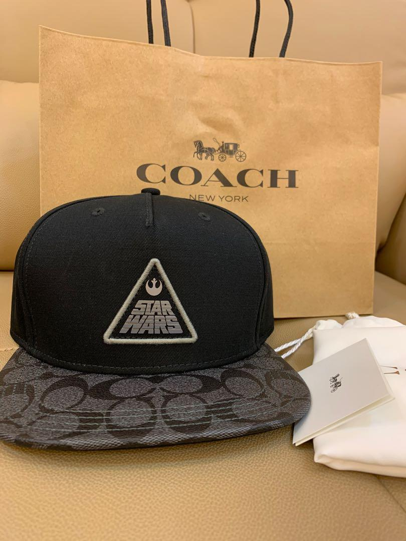 Authentic Coach men cap F79652 baseball cap Star Wars limited edition