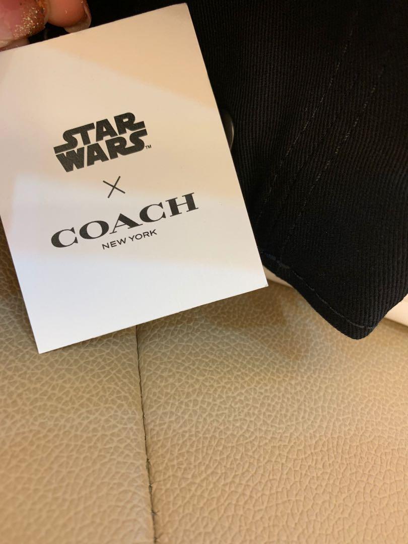 Authentic Coach men cap F79652 baseball cap Star Wars limited edition