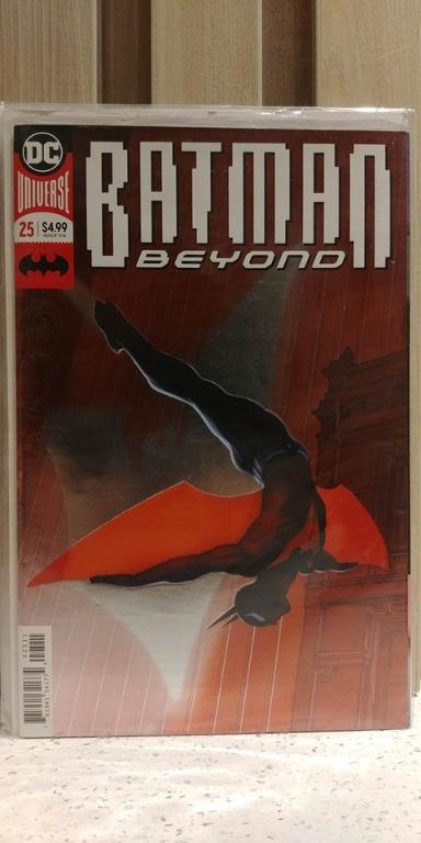 Batman Beyond (2016) # 25A 1st appearance of Elainna Grayson, daughter of Dick Grayson