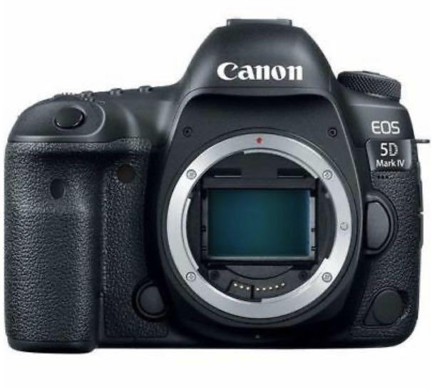 Canon EOS 5D Mark IV Digital SLR Camera with EF 24-105mm f4/L
