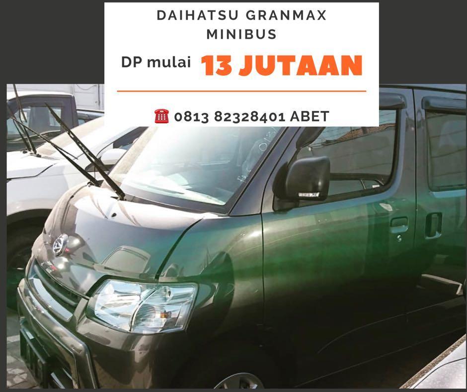 Daihatsu Granmax Minibus DP RINGAN mulai 13 jutaan. Daihatsu Pamulang