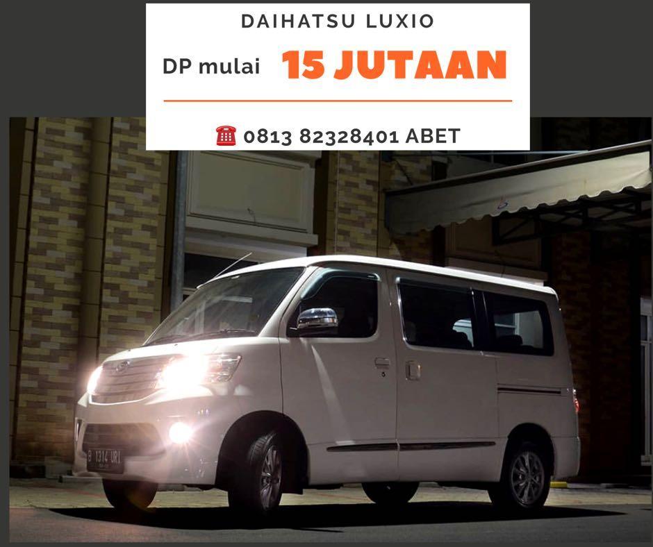 Daihatsu Luxio DP RINGAN mulai 15 jutaan. Daihatsu Pamulang