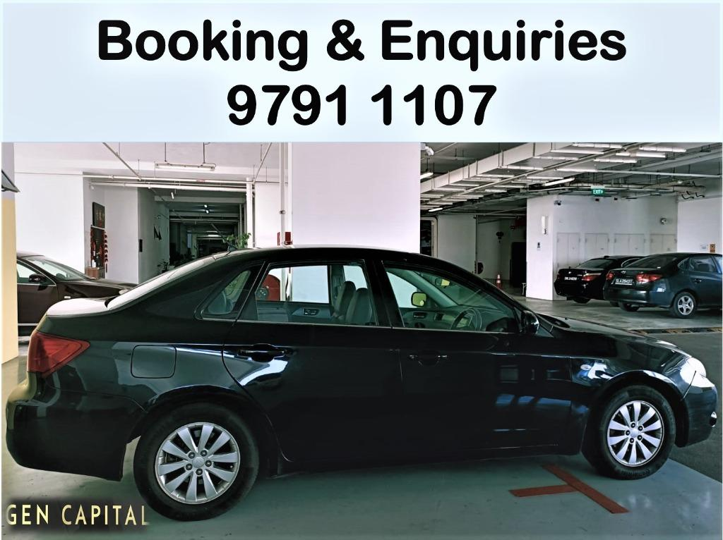 HURRY UP AND RENT FROM US NOW ! SUBARU IMPREZA! LOWER RATES FOR YOU! PHV/PERSONAL ARE WELCOME!