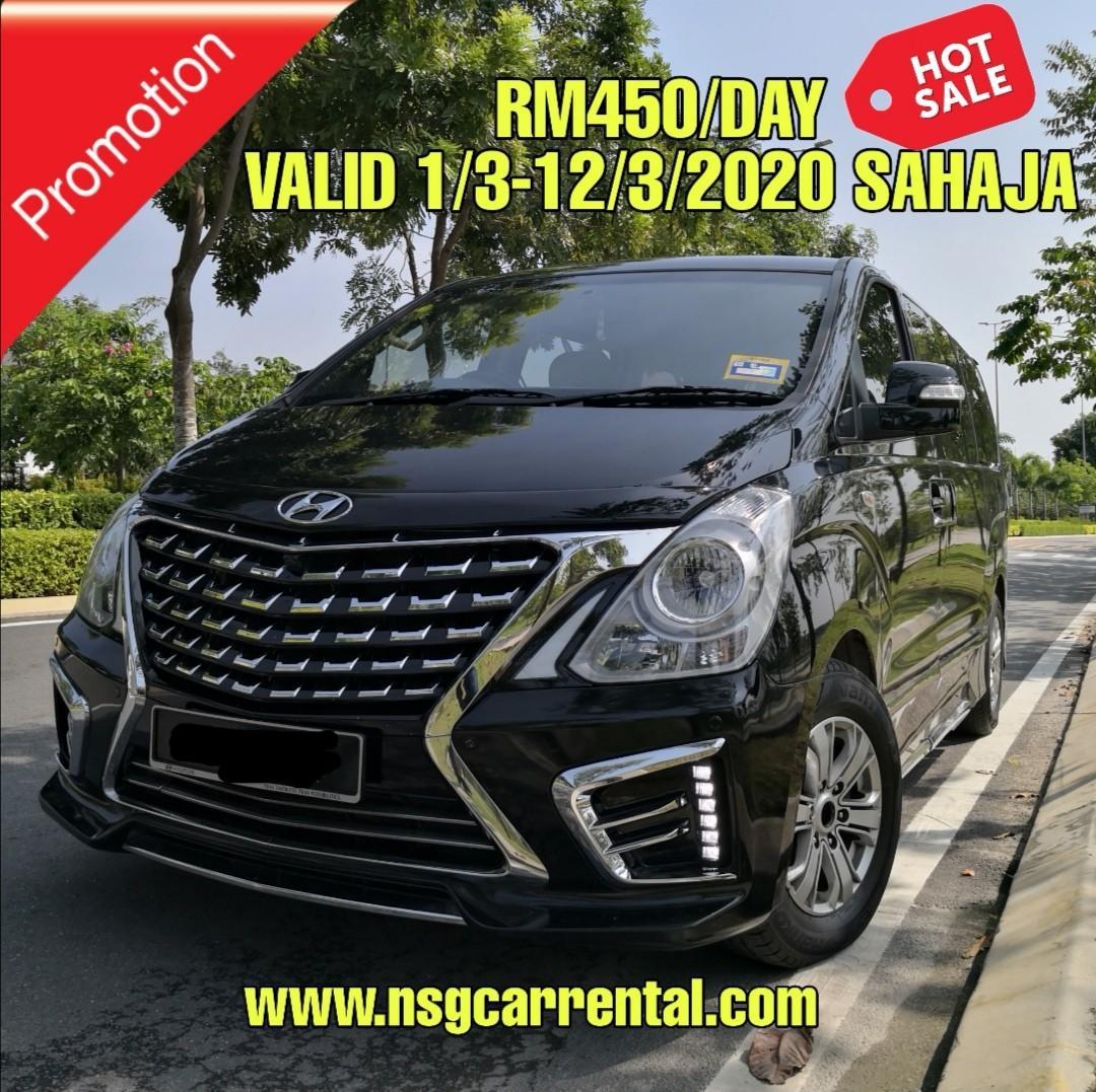 Hyundai Starex 2.5 (A) 11 seater MPV Sewa Selangor KL