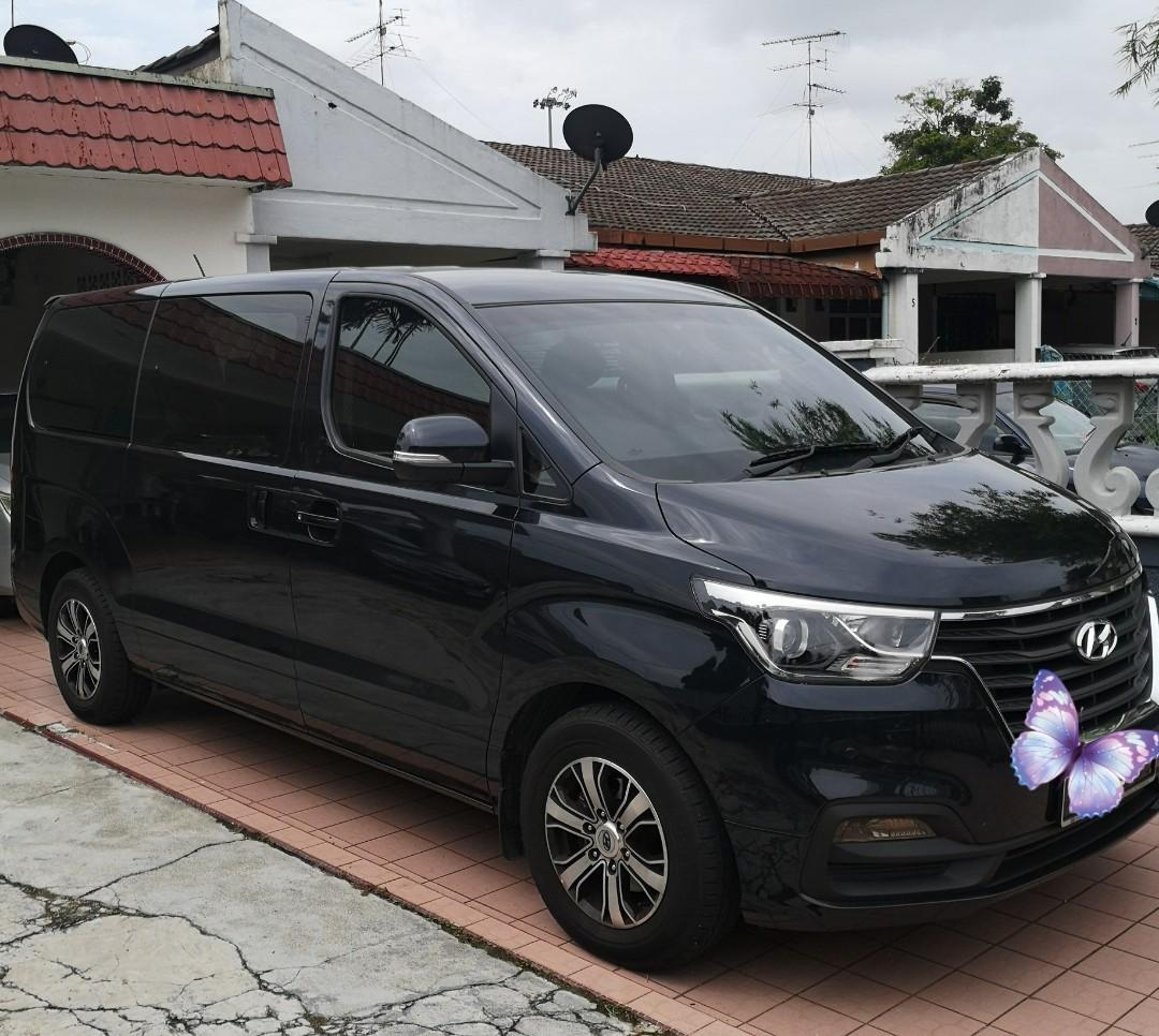 Hyundai starex for JB/KL/SG/Malacca tour with driver or self drive