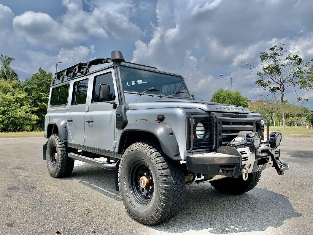 Land Rover Defender 110 Station Wagon 2.4 Puma TDCI For Sale !