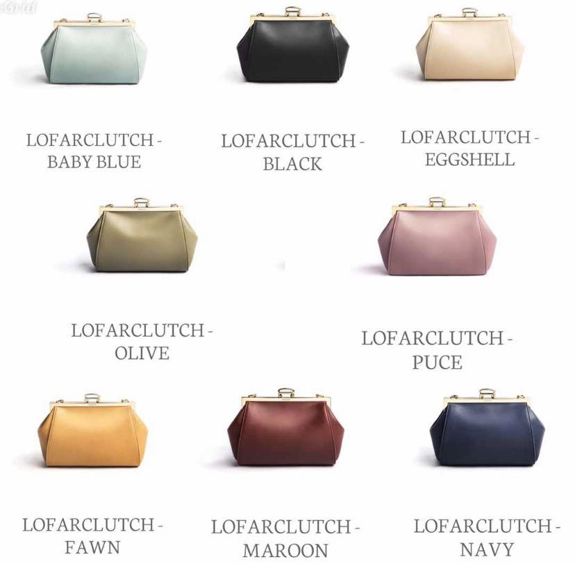 Lofarclutch By Sometime Asian Designers Women S Fashion Bags Wallets Clutches On Carousell