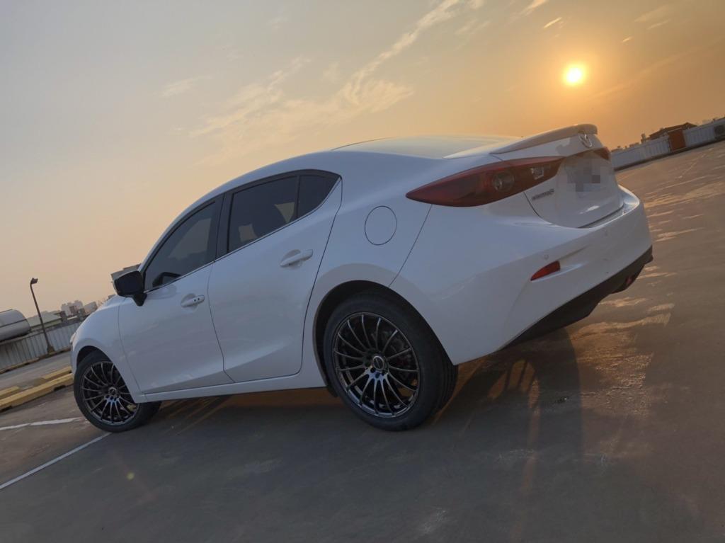 馬自達 Mazda3 2017 2.0 白色