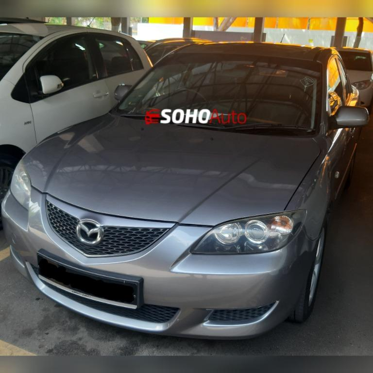 Mazda 3 Sedan Short Term Daily Malaysia For Rent SG Car Rental Singapore Vehicle Leasing