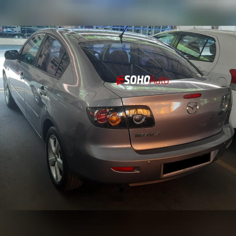 Mazda 3 Sedan For Rent Hire Short Term Daily Malaysia SG Car Rental Singapore Vehicle Leasing