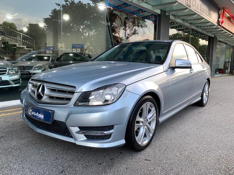 Mercedes-Benz C180 Avantgarde 7G-Tronic BlueEfficiency  Auto