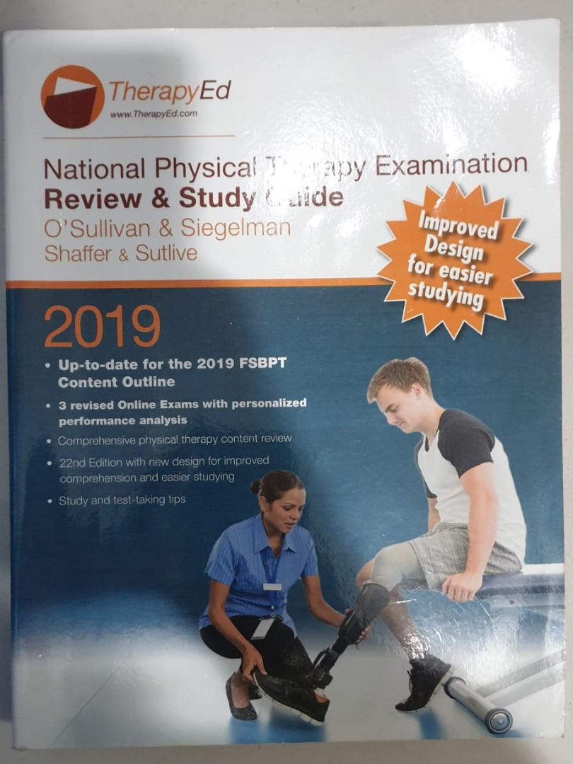 THERAPYED NPTE  (National Physical Therapy Examination Review and Study Guide) 22nd edition