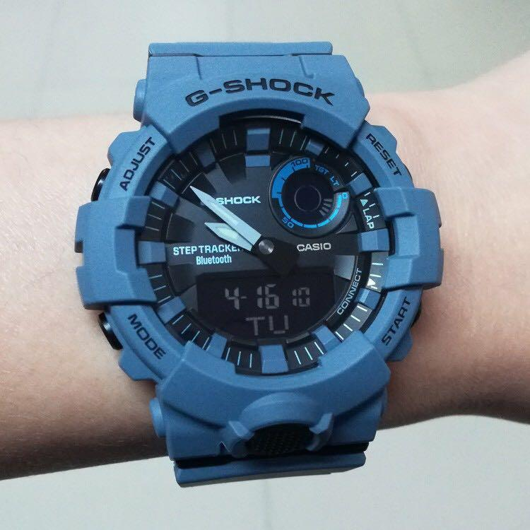 NEW🌟BLUETOOTH STEP-TRACKER : GSHOCK DIVER UNISEX SPORTS WATCH : 100% ORIGINAL AUTHENTIC CASIO G-SHOCK : GBA-800UC-2ADR / GBA-800UC-2A / GBA-800-2A