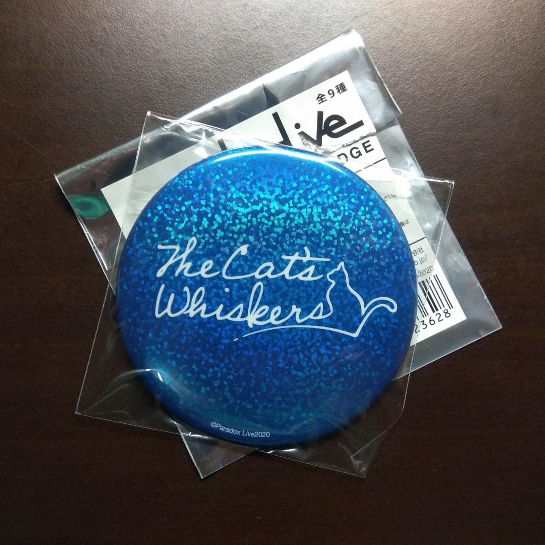【Official】Paradox Live The Cat's Whisker Big Can Badge