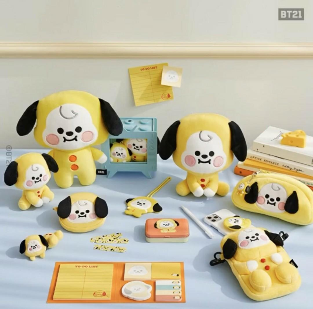 (PO) Official BTS BT21 Baby Pong Pong Standing Doll (7cm)