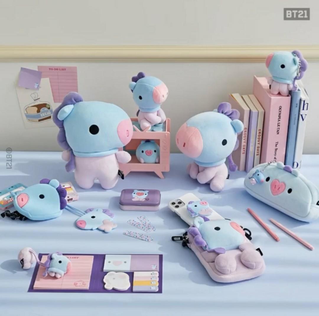(PO) Official BTS BT21 Baby Sitting Doll (12cm/20cm)