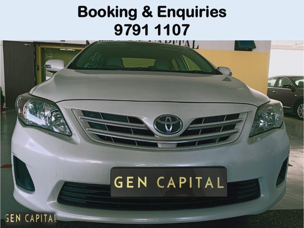 SIGN UP FOR THE 77MILLION POINT TO POINT PACKAGE! TOYOTA ALTIS FOR PHV & PERSONAL USE !