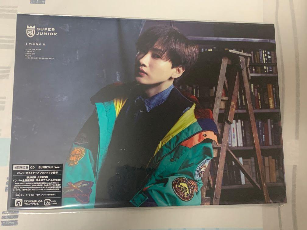 Super Junior I Think U Japanese Album Eunhyuk Version