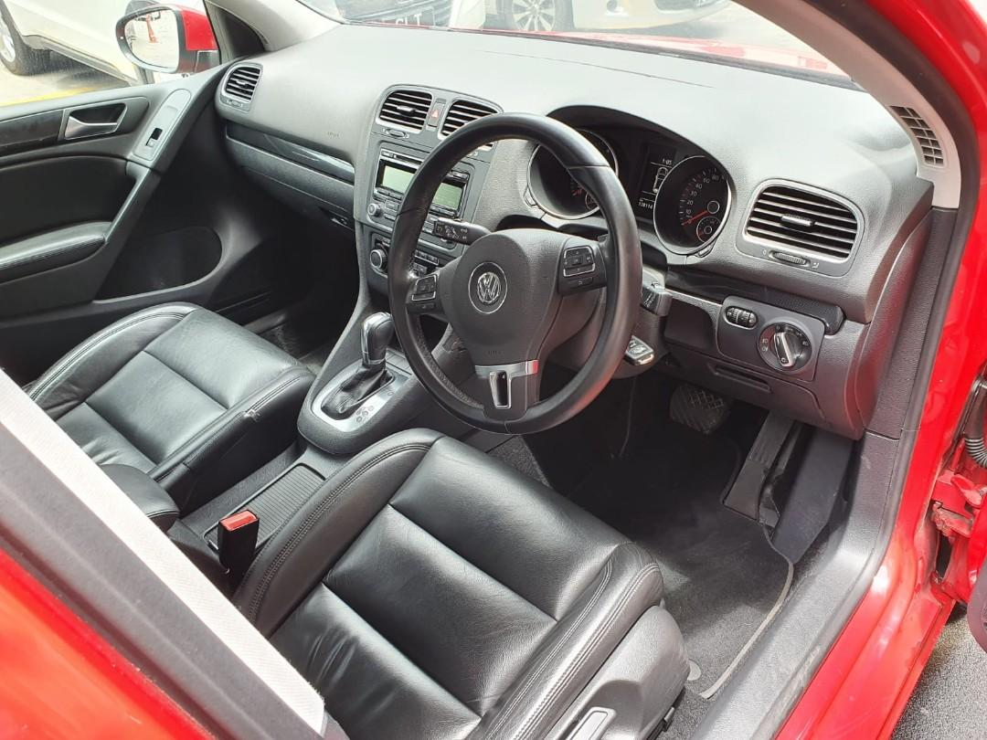 Volkswagen golf 1.4a for rental grab/gojek/personal/privatehire