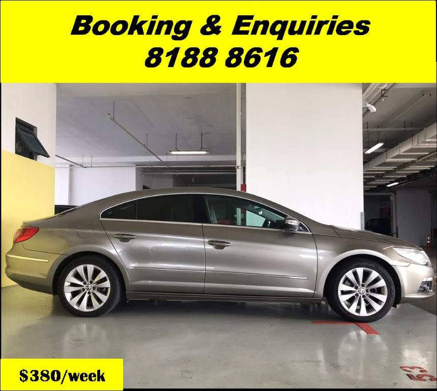 Volkswagen Passat HAPPY WEDNESDAY!! JUST IN Superb Condition with the most Fuel Eficient & Spacious car. Cheapest rental in town with just $500 Deposit driveoff immediately. Whatsapp 8188 8616 now for special rates!! EVERY CAR MUST GO!!