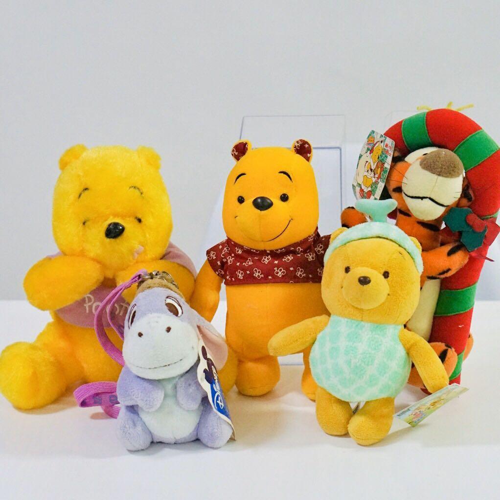 Winnie the pooh pastel plush 55cm