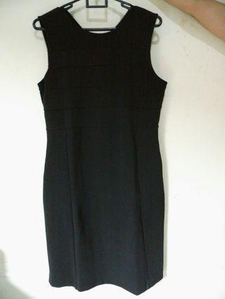 Black Dress Sleveless #promodressaja