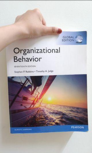 組織行為organizational behavior