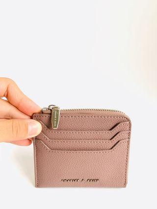 Charles & Keith Zip Pouch Cardholder