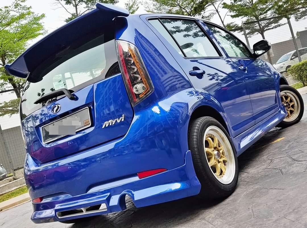 2008 Perodua MYVI 1.3 (M) muka rendah 1990 LOAN KEDAI KERETA.