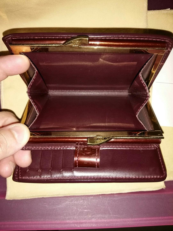 📢Flash Deal $480 NETT  💯Authentic Louis Vuitton Poretefuille Vennois flap wallet Embossed Glossy Shine M91524