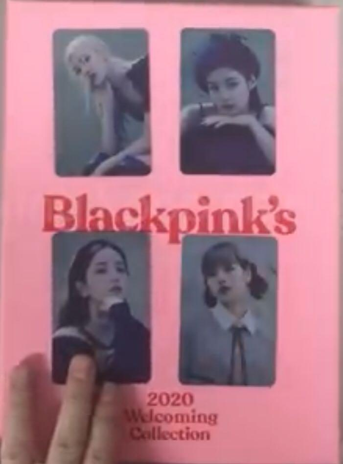 Loose Blackpink Welcoming Collection Bonus Photocard