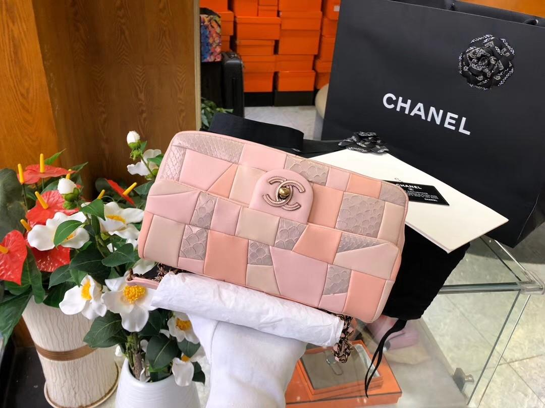 Chanel Chanel Flap Chanel Bag Chanel CF Chanel Classic Flap Chanel Exotic Python Leather Chanel