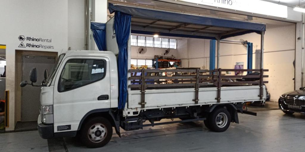 Pay Rental After u use! CHEAP & LOW DEPOSIT 14ft CANOPY LORRY FOR RENT / LEASE