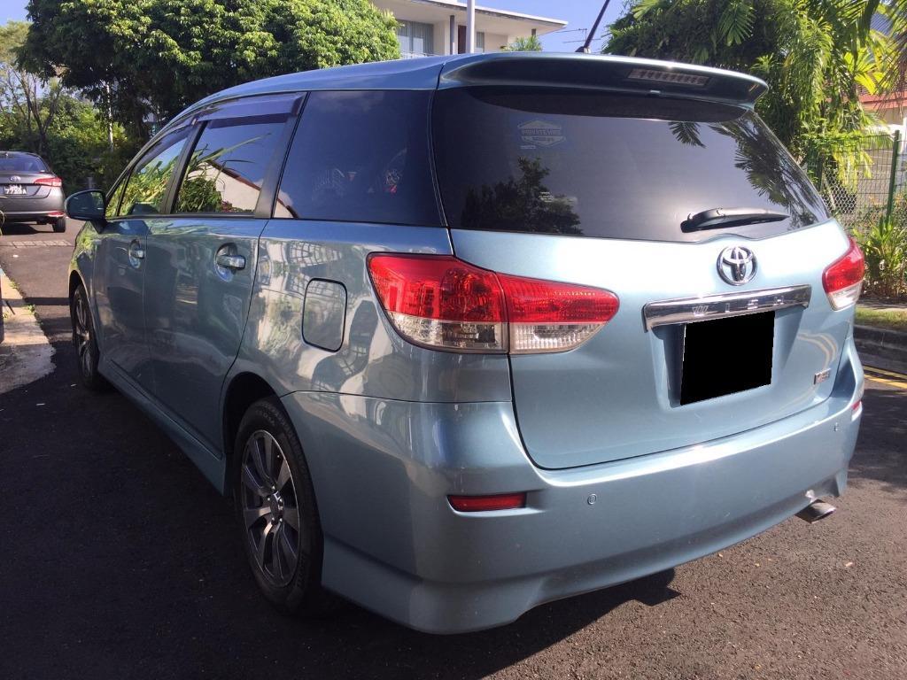 Cheapest!!! Toyota Wish 1.8A - Grab / Go-Jek / Personal Usage Rental